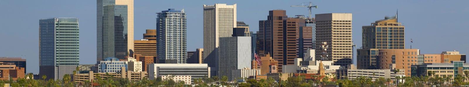 Distant view of the Nunez & Associates building in phoenix AZ