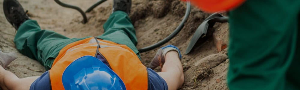 Worker injured at a construction site