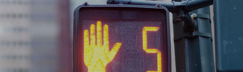 Traffic stop signing Phoenix
