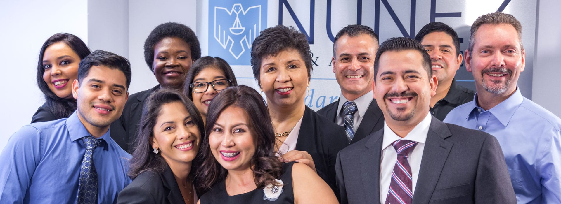 happy team photo of nuñez & associates